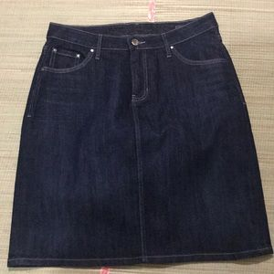 JAG JEANS Classic fit Denim Skirt. - X205